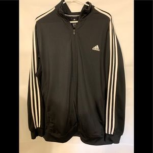 Adidas men's three stripe track jacket 2xl